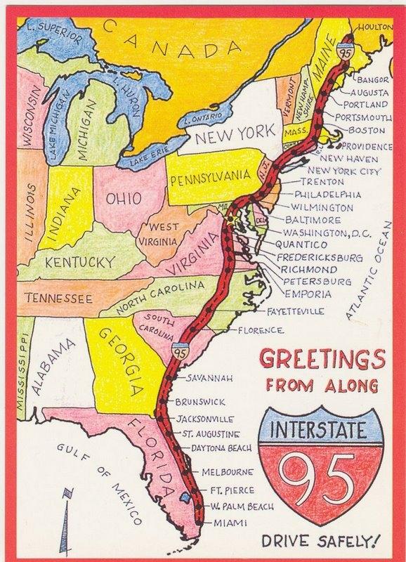 Map Of I South Carolina Georgia Map - Georgia map highway 95