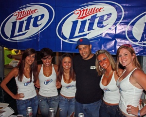 miller light girls