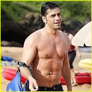 stamos belly button