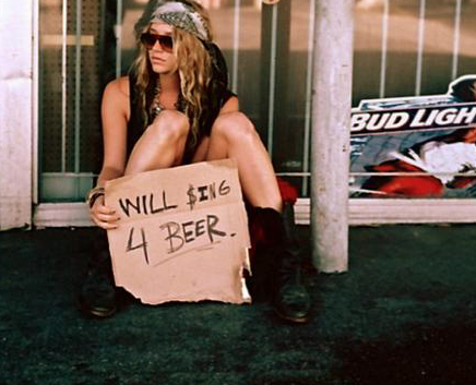 homeless women sexy