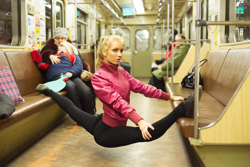 girl subway