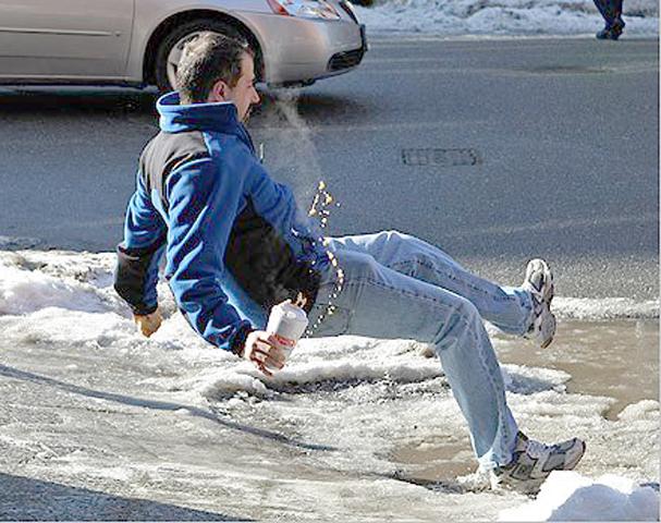 Resultado de imagen para falling on ice