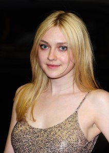 DAKOTA FANNING at Now is Good Premiere